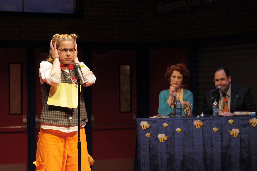 Molly Bell as Loggaine in 25th Annual Putnam County Spelling Bee